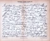 Autographen berühmter Personen III. und IV. ca. 1885...