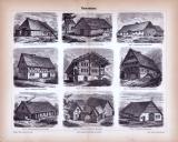 Bauernhaus ca. 1885 Original der Zeit