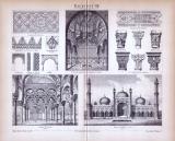 Baukunst VIII. ca. 1885 Original der Zeit