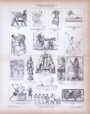 Bildhauerkunstt I. ca. 1885 Original der Zeit