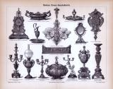 Moderne Bronze- Kunstindustrie ca. 1885 Original der Zeit