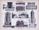 Stich aus 1893 zu Metallurigischen Öfen.