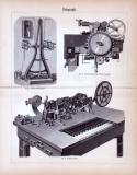Telegraph ca. 1885 Original der Zeit