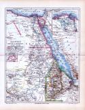 Landkarte von Ägypten, Darfur und Abessinien. Maßstab 1...