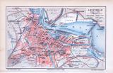 Stadtplan von Amsterdam im Maßstab von 1 zu...