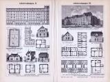 Arbeiterwohnungen I. - III. ca. 1893 Original der Zeit