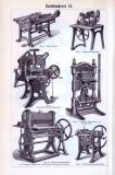 Buchbinderei I. + II. ca. 1893 Original der Zeit