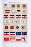 Chromolithographie von 1893 zeigt Deutsche Flagge aus...