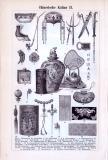 Chinesische Kultur I. + II. ca. 1893 Original der Zeit
