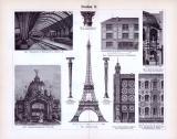 Eisenbau I. + II. ca. 1893 Original der Zeit