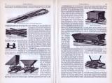 Feldeisenbahnen ca. 1893 Original der Zeit