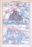 Festungskrieg I. + IV. ca. 1893 Original der Zeit