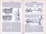 Technische Abhandlung aus 1893 mit Stichen zum Thema...
