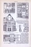 Gasthäuser ca. 1893 Original der Zeit
