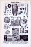 Japanische Kultur I. + II. ca. 1893 Original der Zeit