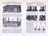 Kochherde und Kochmaschinen ca. 1893 Original der Zeit