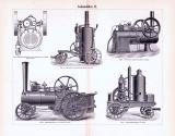 Lokomobilen I. - III. ca. 1893 Original der Zeit