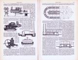 Mauersteine ca. 1893 Original der Zeit