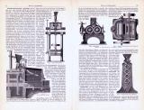 Mühlen I. - IV. ca. 1893 Original der Zeit