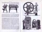 Münzwesen ca. 1893 Original der Zeit