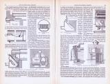 Rauchverbrennungs-Apparate ca. 1893 Original der Zeit