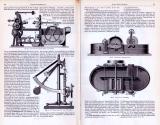 Technische Abhandlung mit Stichen aus 1893 zur Papierfabrikation.