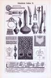 Ostindische Kultur I. + II. ca. 1893 Original der Zeit