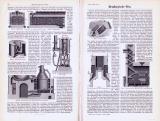 Technische Abhandlung mit Stichen aus 1893 zu...