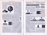 Technische Abhandlung mit Stichen aus 1893 zu Oberbau der Eisenbahnen.