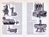 Spiritusfabrikation ca. 1893 Original der Zeit