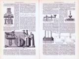 Telegraphenapparate I. (I. - IV.) ca. 1893 Original der Zeit