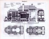 Theaterbau I. - III. ca. 1893 Original der Zeit