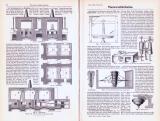Technische Abhandlung mit Stichen aus 1893 zum Thema...