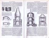 Thonwarenfabrikation ca. 1893 Original der Zeit