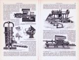 Torfgewinnung ca. 1893 Original der Zeit