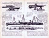 Torpedos ca. 1893 Original der Zeit