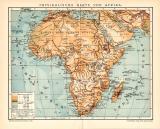 Farbige Lithographie von 1891 zeigt eine physikalische...