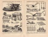 Landwirtschaft Geräte & Maschinen I. + IV....