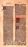 Buchdruckerkunst Gutenberg Bibel Faksimile...