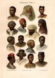 Afrikanische Völker I. historischer Druck...