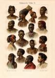 Afrikanische Völker II. historischer Druck...
