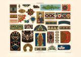 Emailmalerei historischer Druck Chromolithographie ca. 1903