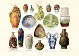 Keramik II. 19. Jhr. historischer Druck...