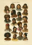 Asiatische Völker I. historischer Druck...