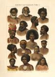 Australier und Ozeanische Völker II. historischer...