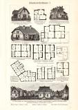 Arbeiterwohnhäuser I. + II. historischer Druck...