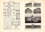 Bibiliotheksgebäude I. - IV. historischer Druck...