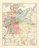 Deutschland während des Deutschen Bundes historische...