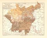 Verbreitung der Deutschen in Mitteleuropa historische...