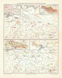 Nutzbare Mineralien in Deutschland historische Landkarte...